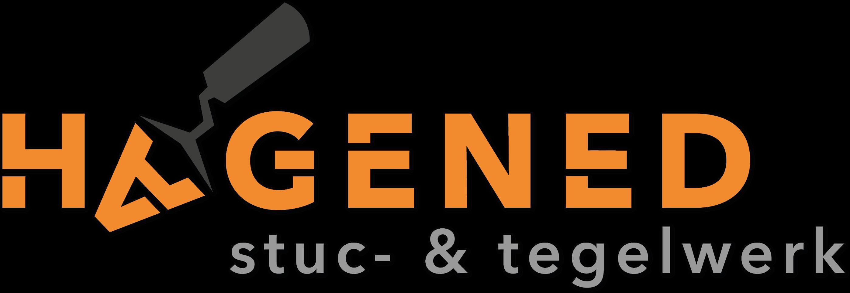 Logo Hagened stuc- en tegelwerk